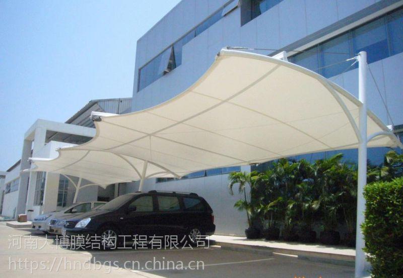 寿阳膜结构 钢及合金膜结构车棚遮阳拉膜