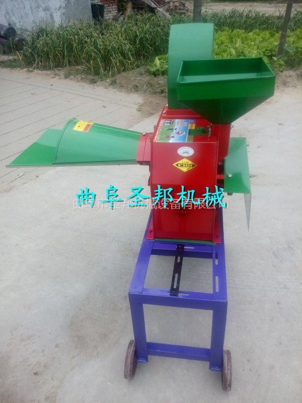 昆虫养殖鲜草柔丝机 多功能打浆铡草机