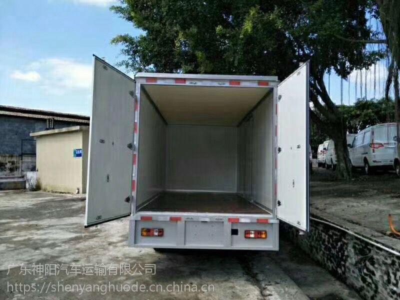新能源东风凯普特箱式载货车出租价格及图片