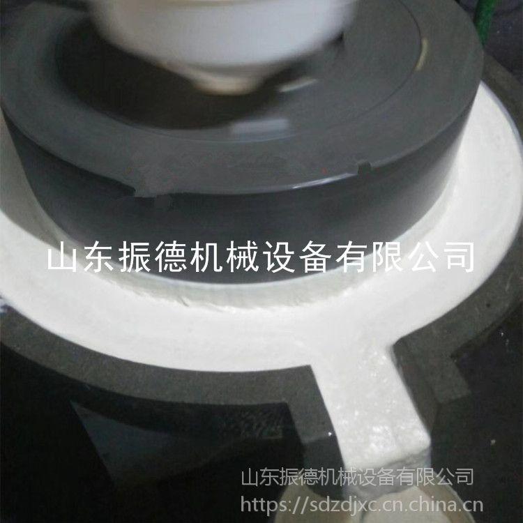 电动石磨机 芝麻酱加工厂家 新型石盘式石磨 振德牌