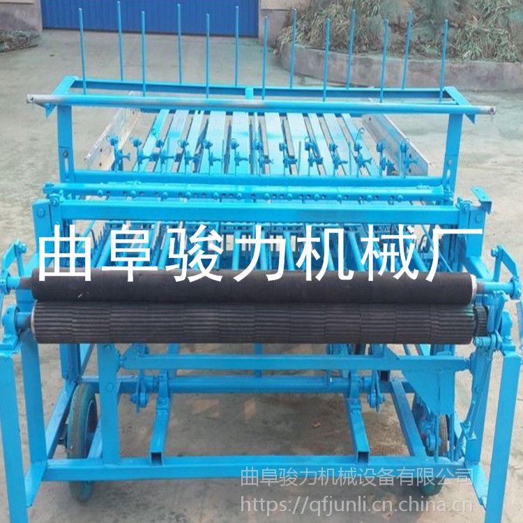 甘肃 多用途草帘机 麦草织席机 自动切边编织机 骏力供应