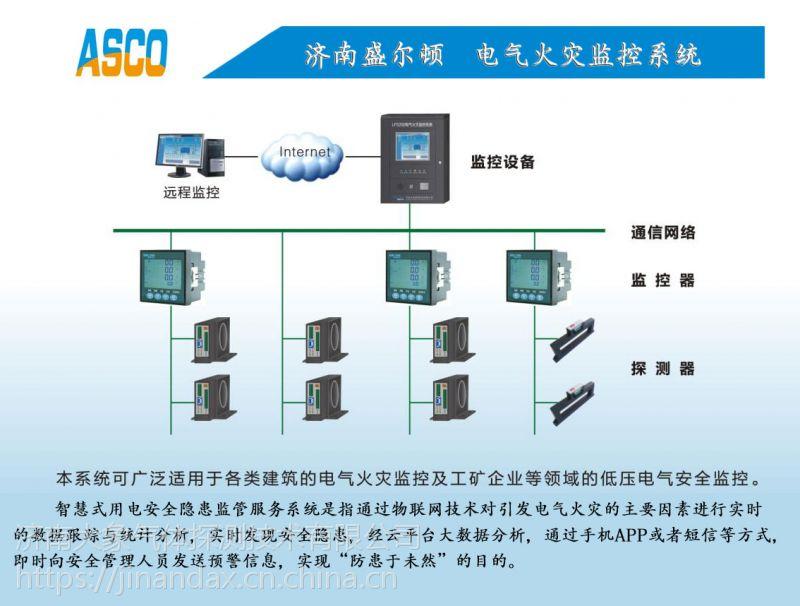 电气火灾监控系统方案智慧城市信息安全系统