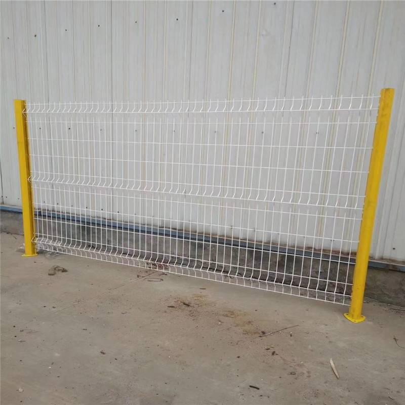 焊接护栏网 勾花网护栏 美观结实铁丝网
