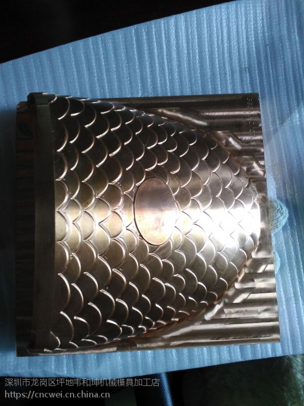 坪地CNC电脑锣对外加工模具精雕铜公