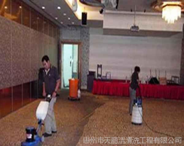 惠州保洁施工方案