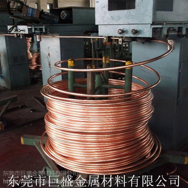 专业生产紫铜导电嘴电焊机配件用红铜线含铜量高