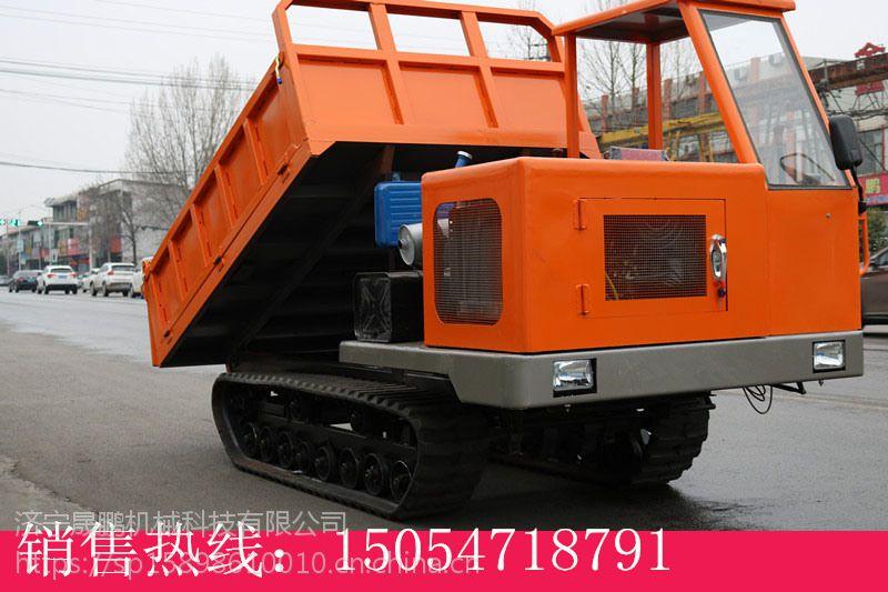 履带5吨运输车 履带稻田运输车