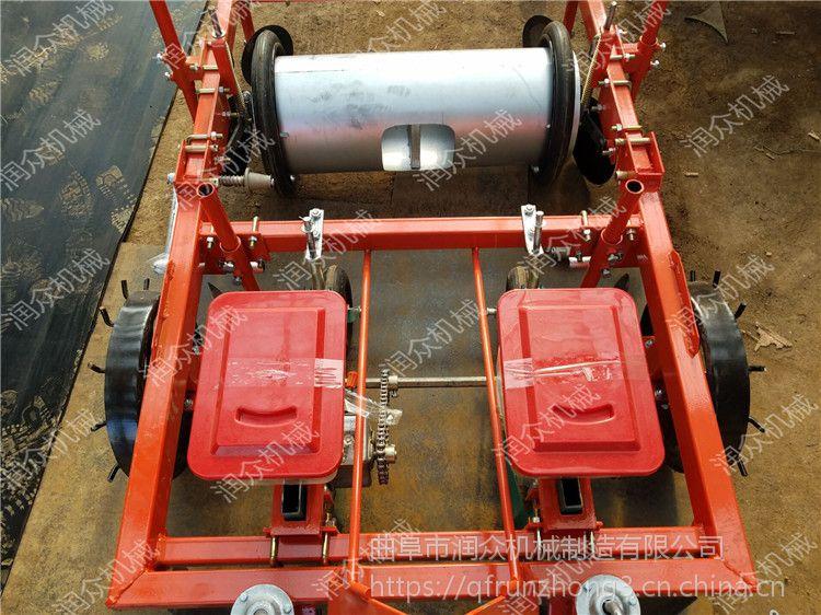起垄施肥喷药覆膜播种机 各种功能用鸭嘴播种机