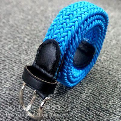 帆布腰带 男士编织腰带 学生休闲弹力裤带 厂家批发直供