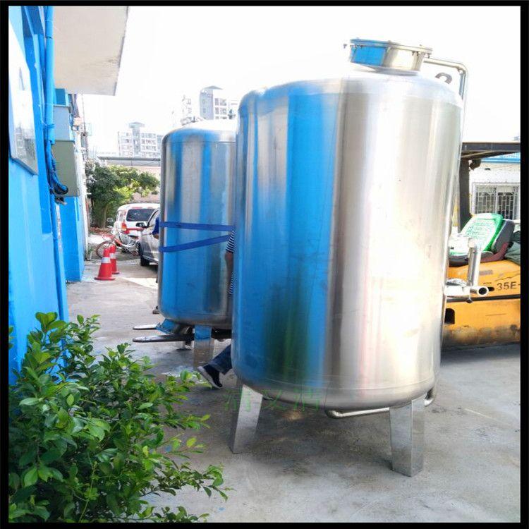 钟山县不锈钢压力罐内衬胶石英砂活性炭锰砂过滤机器设备广州清又清直销