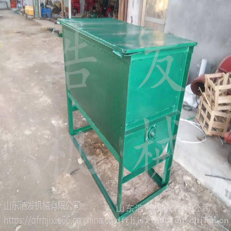 家禽家畜饲料搅拌机 猪专业饲料卧式混料机