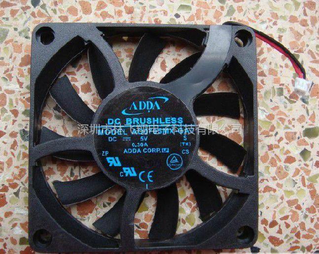 原装全新ADDA 5V 0.26A AD0705LX-D707厘米CPU散热风扇现货