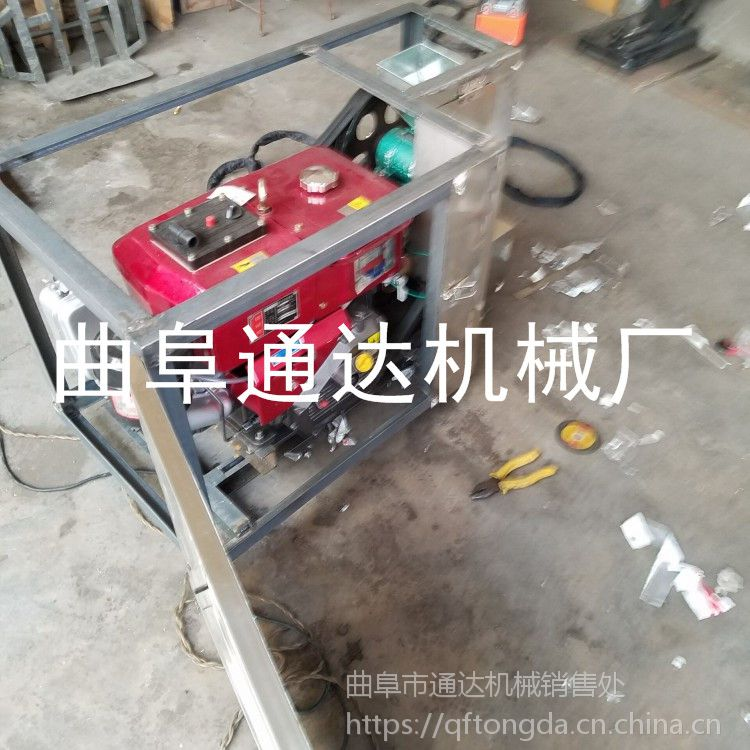 通达热卖 十用型空心膨化机 玉米大米棒机 暗仓七用杂粮膨化机型号
