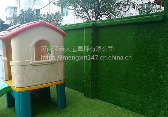 立体墙面铺装人造草坪的难点及克服方法