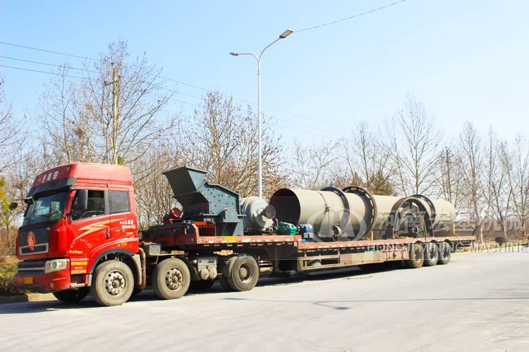 大型煤泥烘干机价格,安徽蚌埠客户打来电话咨询