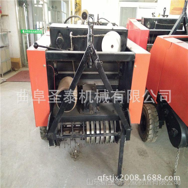 供应50*80小麦秸杆打捆机 18马力以上拖拉机带打包机