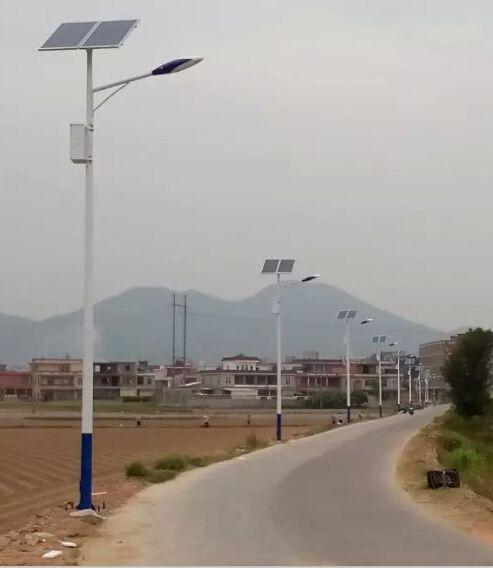 新农村建设太阳能路灯led项目推进6米30瓦乡村路灯批发送货上门