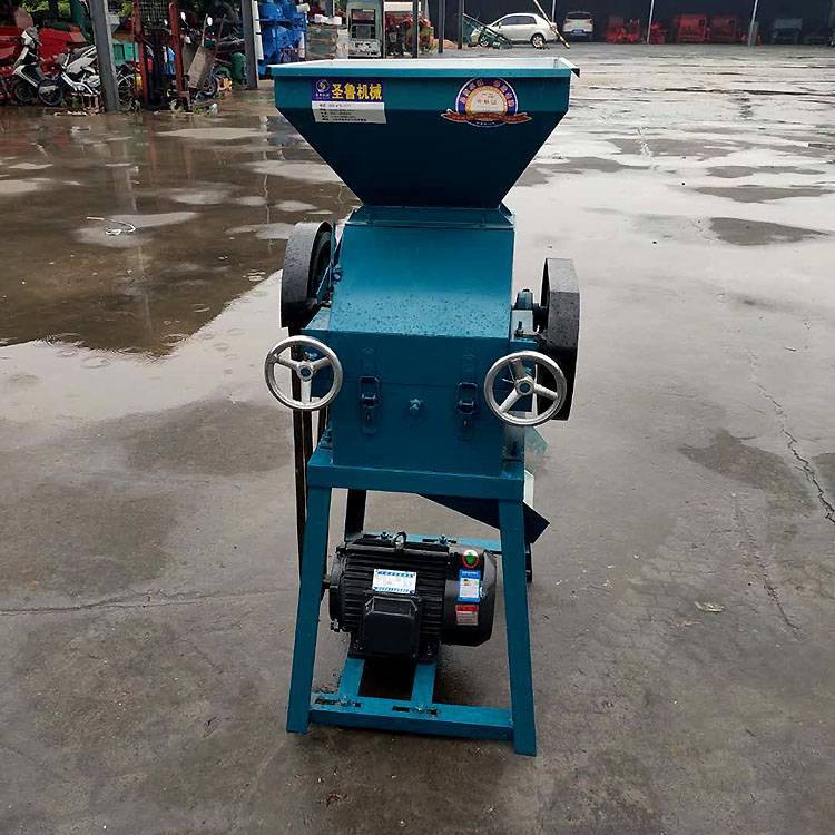 豆制品加工设备 现货供应粮食挤扁机 大豆压扁麦片机