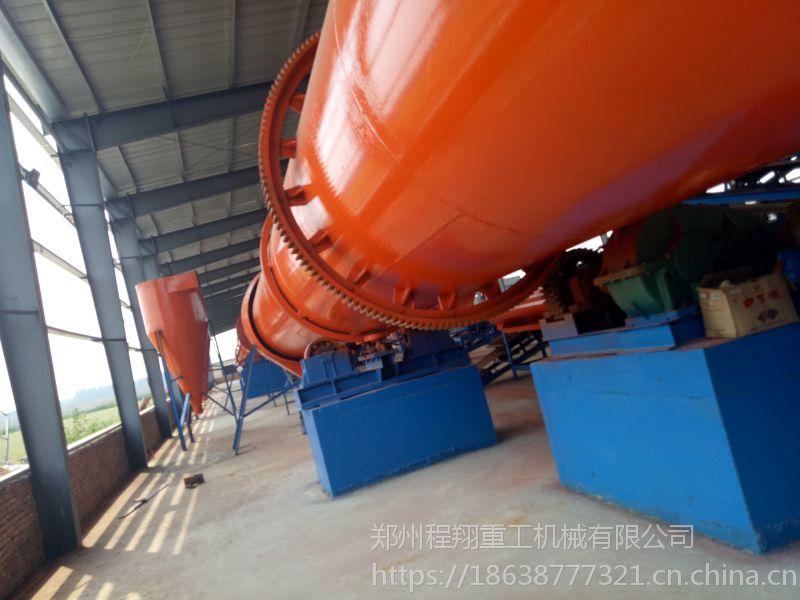 一条年产1万吨的NC154型猪粪有机肥生产线工艺流程介绍