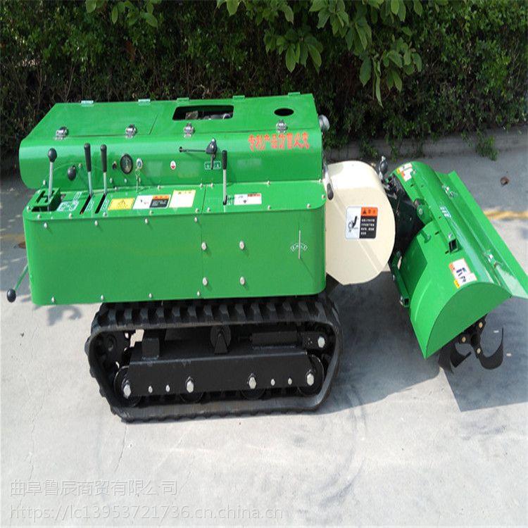 果园开沟机哪里好 全自动多功能管理机价格 履带式旋耕机厂家