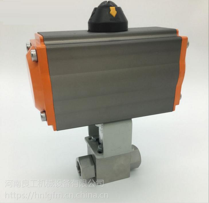 Q611N气动液压高压球阀