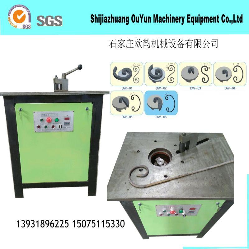 铁艺加工设备 电动弯花机 涡花机  铁艺设备生产厂家