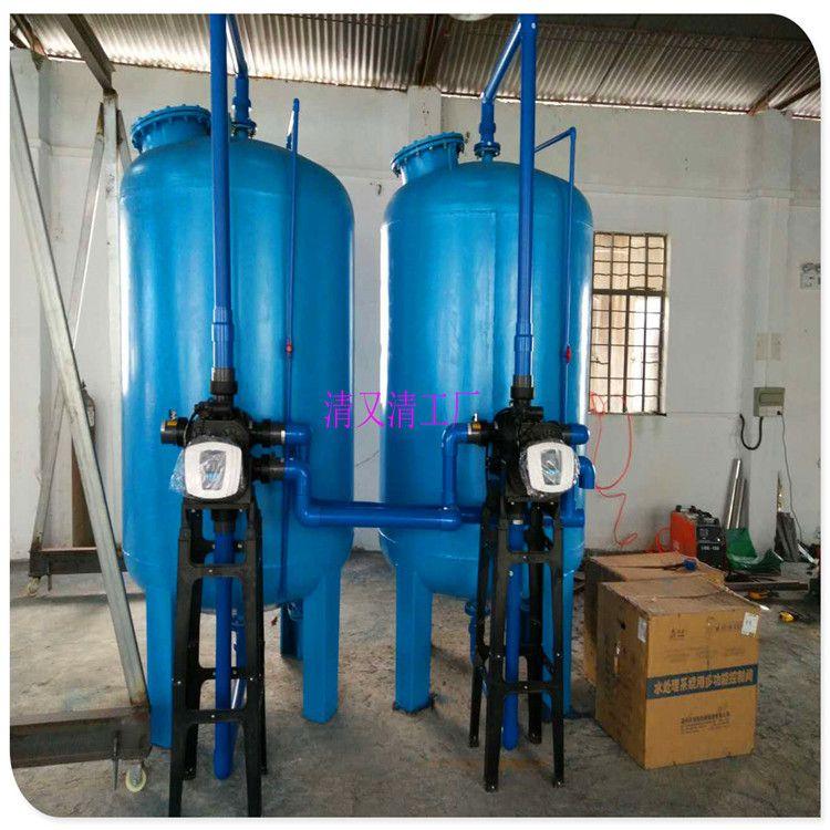 清又清厂家供应靖西县碳钢机械过滤器\预处理多介质过滤器