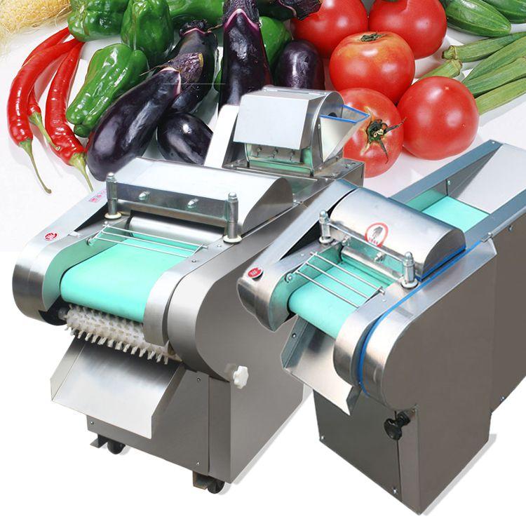 大型工厂食堂用多功能切菜机 启航快速省人工的地瓜切条机 腐竹切段机价格