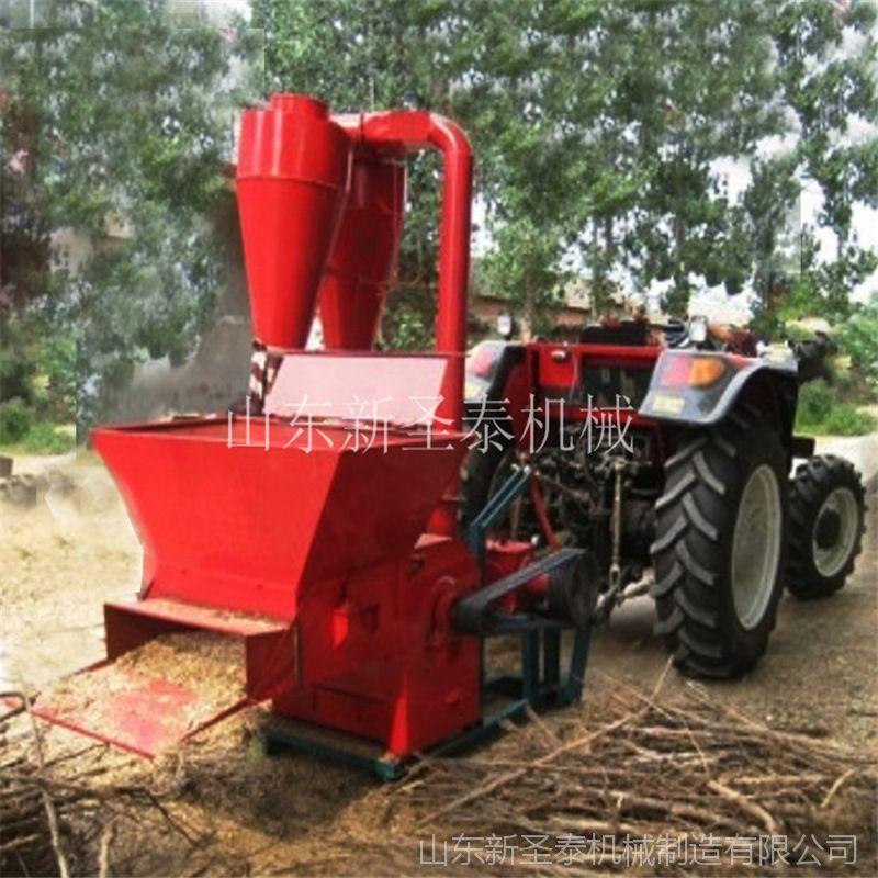 青饲料粉碎机 多功能养殖粉碎机 玉米秸秆自动进料粉碎机