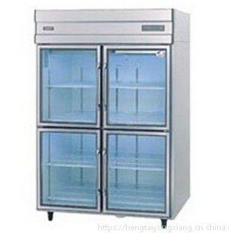 Panasonic/松下四门展示柜 BR-1281CP 四门冷藏玻璃门柜 高身高温冷藏柜