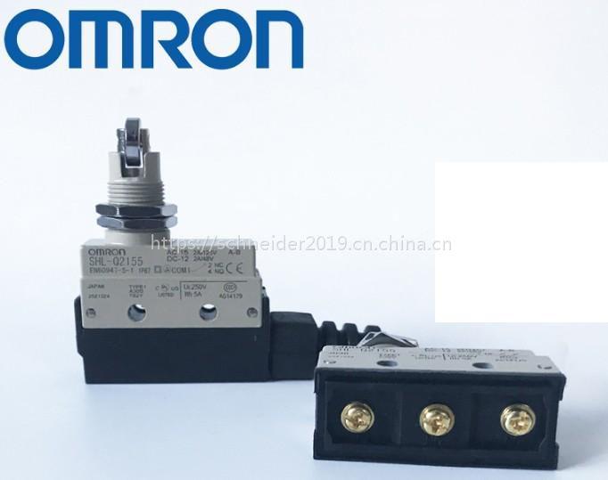 欧姆龙微动开关行程开关 SHL-Q2155 限位开关 SHL-01255 滚珠塞柱