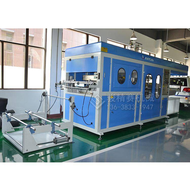全自动XPE汽车防水膜吸塑成型机 汽车车门防水膜吸塑机 重庆制造