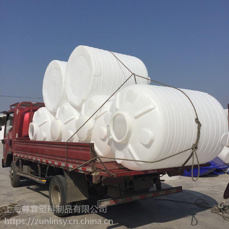 句容 3吨塑料水箱 PE水塔 塑料储罐厂家
