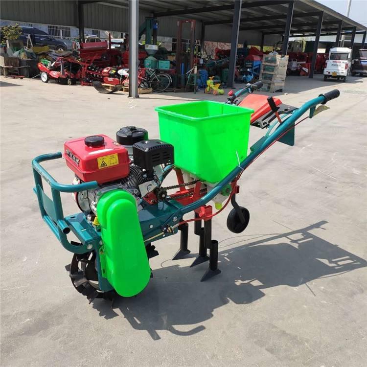 汽油施肥机 玉米播种机 自走式蔬菜追肥机