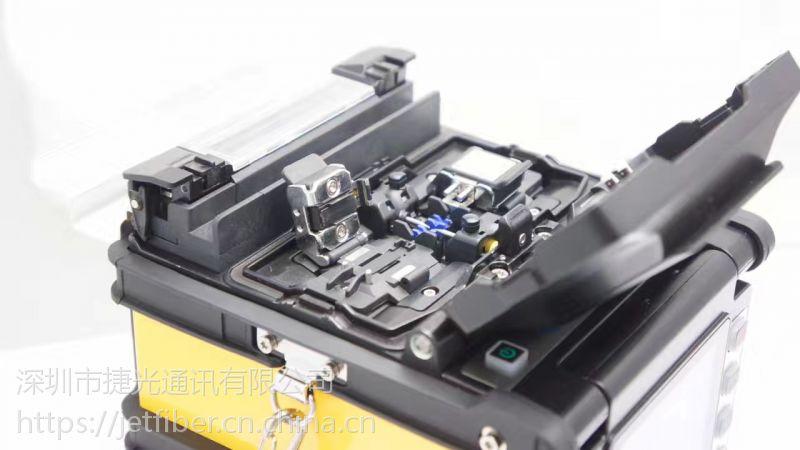 """业界中有""""极速神机""""之称且能自动辨识光纤类型的高精干线熔接机!"""