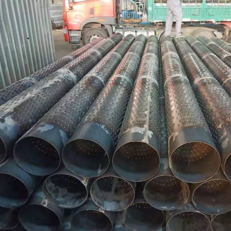 新出桥式滤水管273降水井专用铁管,打井铁管DN300井壁管 哪里好?
