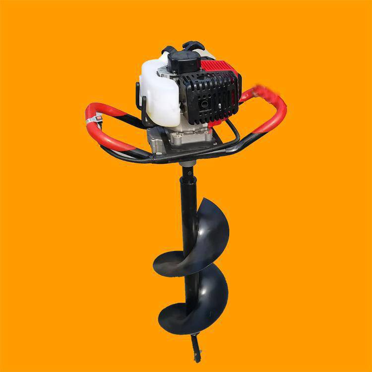 大功率汽油挖坑机 汽油挖坑机 圣鲁牌