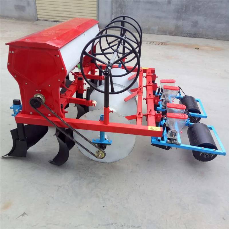 四六行拖拉机带播种机 免耕施肥谷子高梁播种机 精播机厂家