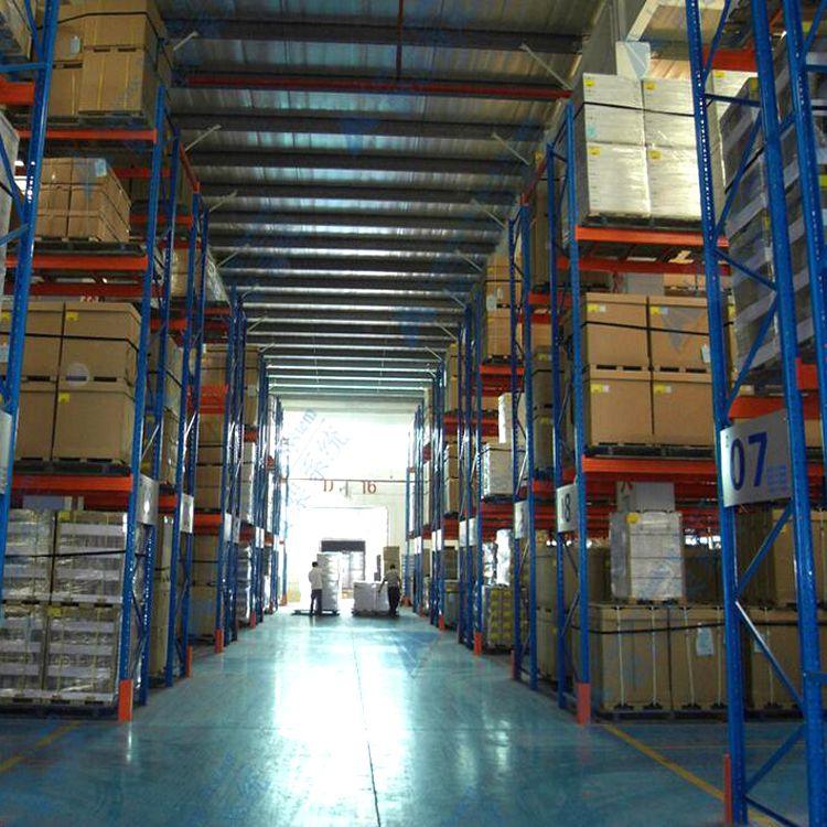 仓库承重货架非标定做,主副架组合式重型横梁货架,每层承载500kg~3000kg