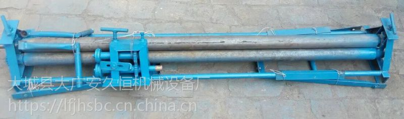 徐州手动小型卷板机销售铁皮卷管机管道卷筒机卷圆机