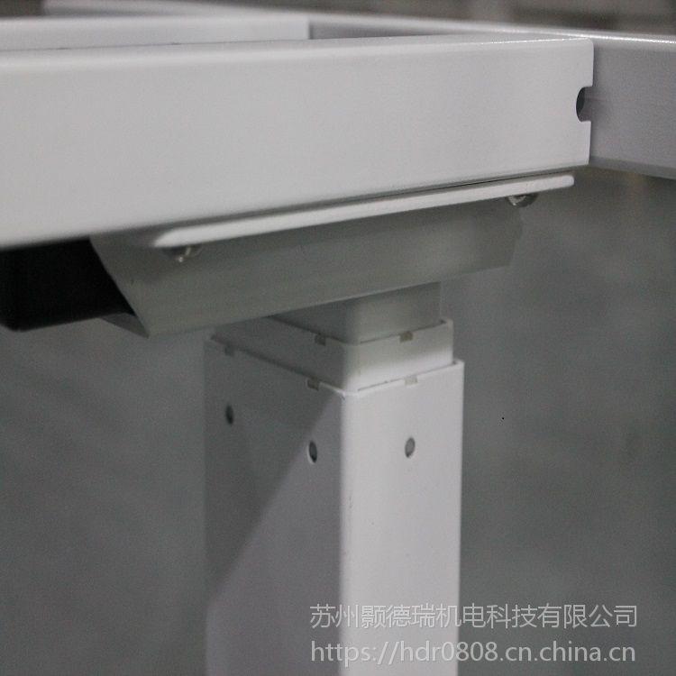 苏州厂家直销简约电动升降金属桌架智能升降办公桌 职员站立式电脑桌厂家直销欢迎咨询