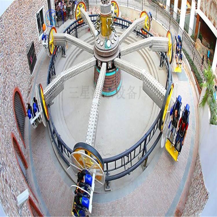 河南荥阳三星游乐设备厂家面向全国诚招合作伙伴儿童游乐设备翻滚音乐船