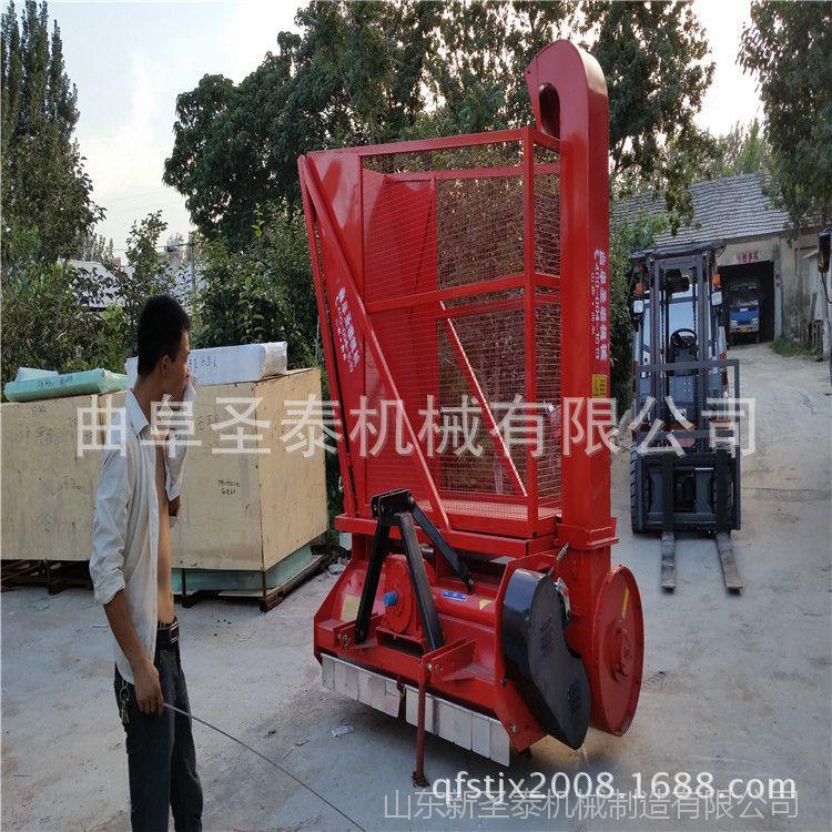 秸秆切碎回收机 高效率的秸秆回收机 玉米秸秆粉碎回收机