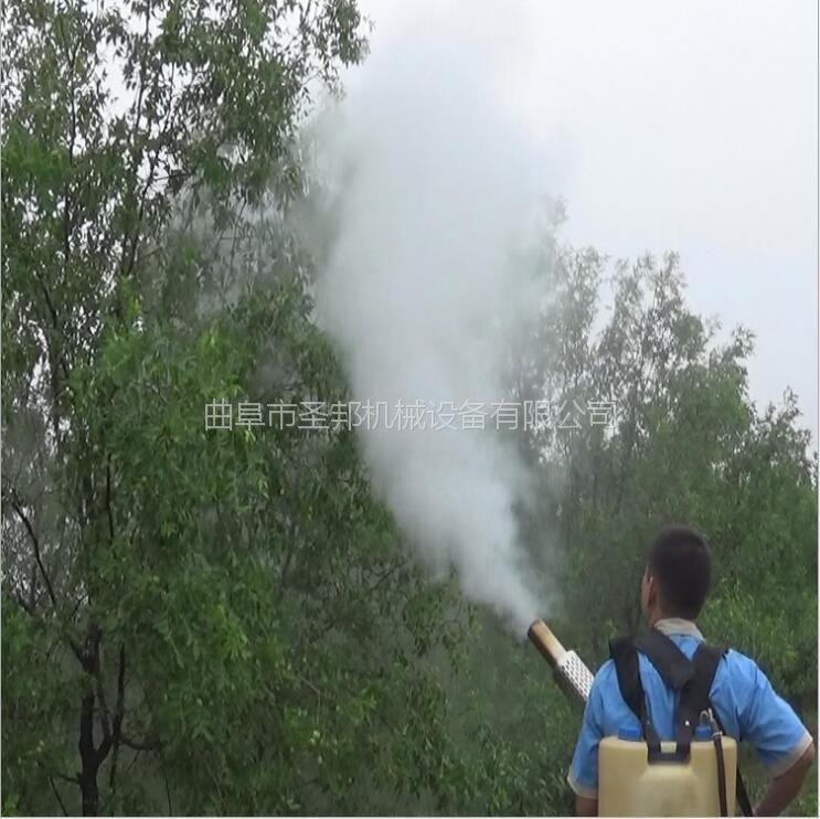 苗圃种植灭虫烟雾机 背负式烟雾机厂家