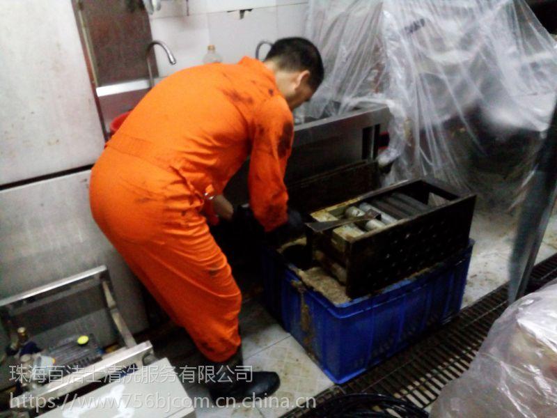 珠海大型厨房油烟风管、排气管道、通风设备清洗、清洁
