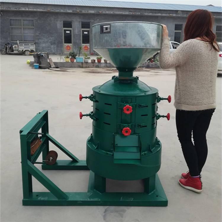 北票谷子碾米机 家用稻谷脱皮碾米机 小型玉米制糁机