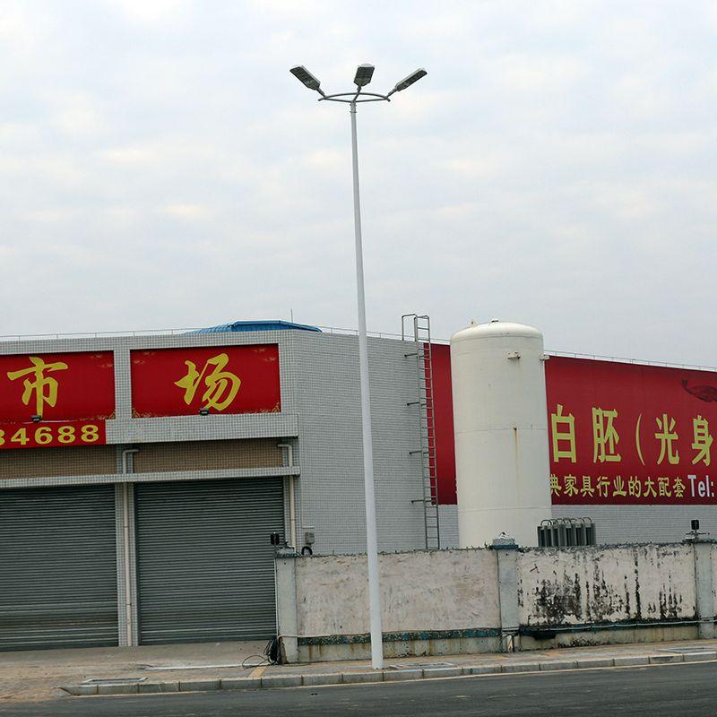清城区停车场专用灯 LED灯杆照度情况 道路灯杆专业生产安装