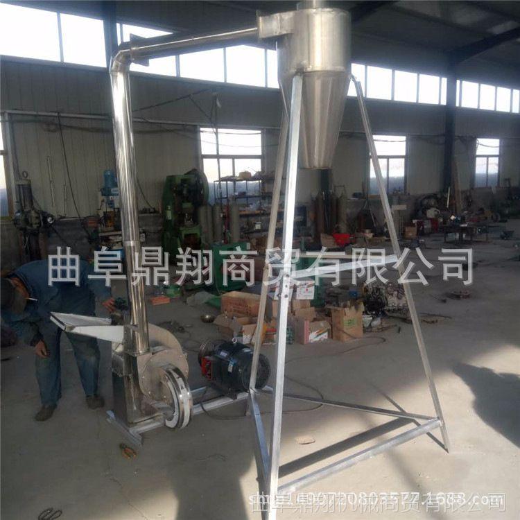 山东厂家专业生产锤片饲料粉碎机 玉米芯粉碎机 400型不锈钢粉碎