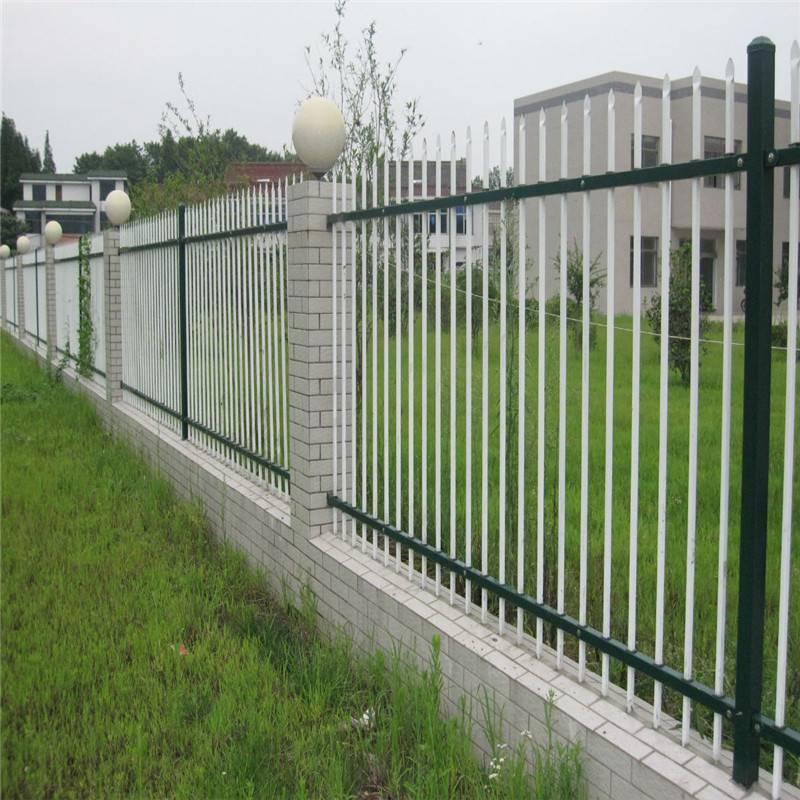 河道防护栏杆 河道护栏 停车场围墙围栏