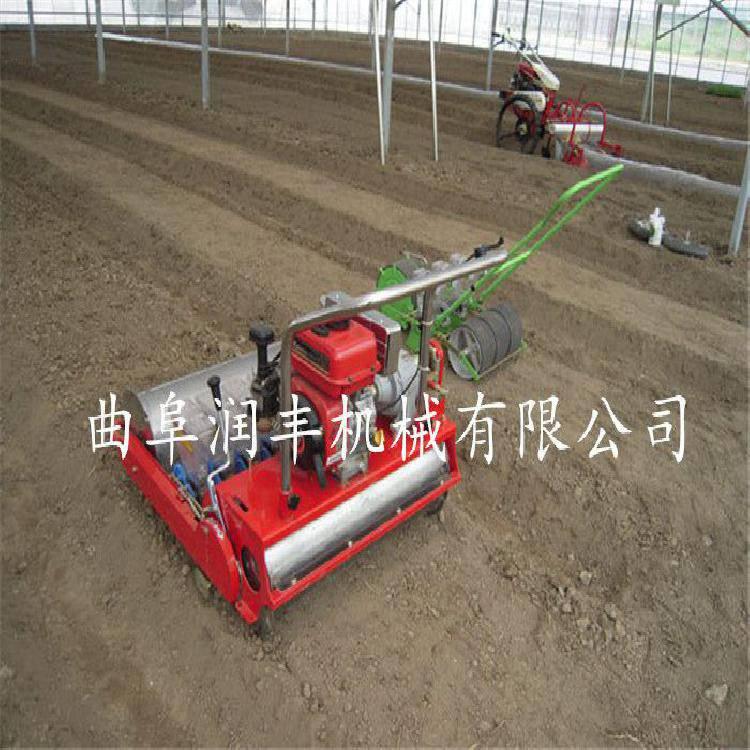 可调耐用多功能型谷子播种机 精播细播全自动播种机润丰